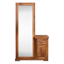 Cubus Dresser Full Mirror - @home Nilkamal,  walnut