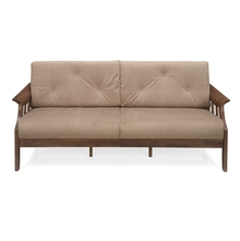 Gia 3 Seater Sofa - @home by Nilkamal, Wenge