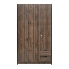 Avery 3 Door Wardrobe - @home by Nilkamal, Modi Wenge