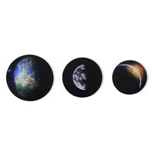 Globe Set of 3 Round Picture Frame - @home by Nilkamal, Indigo