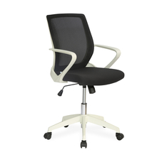 Nilkamal Scoop Mid Back Office Chair, Black & White