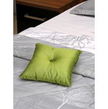 Spectra 30 x 30 cm Filled Cushion, Green