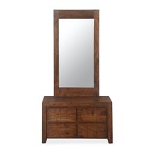 Amelia Dresser with Mirror - Espresso