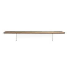 Classic & Juan Big Wall Shelf - @home by Nilkamal, Walnut
