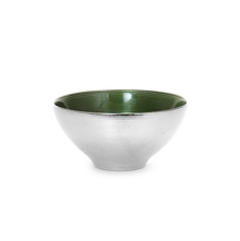 Conical Set Of 2 Snack Bowl 500ML, Green