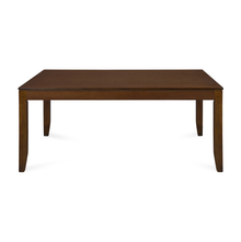 Pandora 6 Seater Dining Table, Walnut