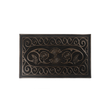 Runner Mettalic finish (45CMX75CM) Door Mats, Brown