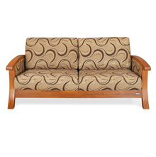 Nilkamal Winston 3 Seater Sofa, Wenge
