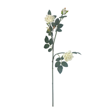 Rose Bush Flower Stick - @home by Nilkamal, White