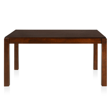 Nilkamal Peony 6 Seater Dining Table, Choco Brown