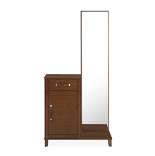 Mindy Dresser with Mirror, Walnut