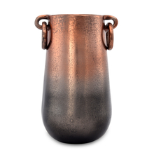 Celopatra Small Metal Vase - @home by Nilkamal, Rose Gold
