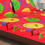 Arcade Kid Assorted 230 x 250 cm Double Bedsheet - @home by Nilkamal, Red