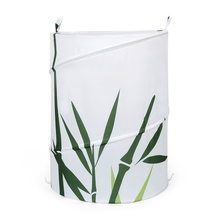 Round 42 cm x 55 cm Laundry Bag - @home by Nilkamal, Green