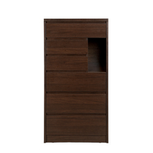 Dean 6 Chest of Drawers, Dark Walnut