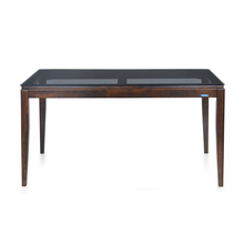 Nilkamal Hampshire 6 Seater Dining Table, Walnut