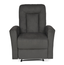 Gretel 1 Seater Sofa With Recliner, Grey