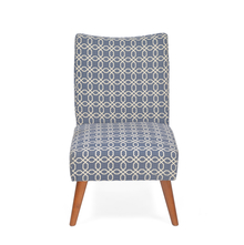 Prevo Arm Chair, Royal Blue