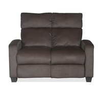 Gloria 2 Seater Sofa with 2 Manual Recliners - @home by Nilkamal, Choco Brown