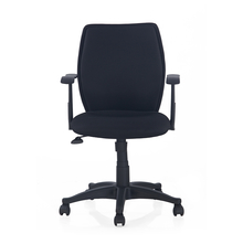 Nilkamal Blaze Mid Back Office Chair, Black