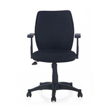 Nilkamal Blaze Mid Back Office Chair, Black