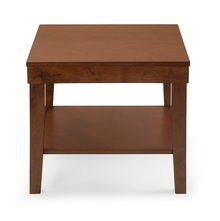 Olenna Side Table, Walnut