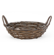 Round PP Fruit Basket - @home by Nilkamal, Brown