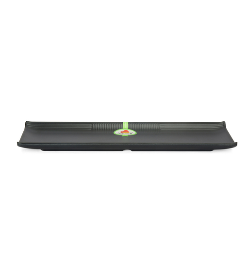Small Shallow Platter - @home by Nilkamal, Black