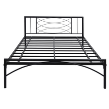 Ursa Queen Size Bed without Storage - @home by Nilkamal, Black