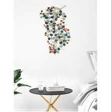 Metal Wine Wall Decor, Multicolor