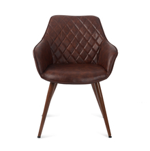 Chad Arm Chair - @home by Nilkamal, Chestnut