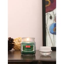 Evergreen Deep Jar Candle, Green