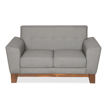 Budapest 2 Seater Sofa - @home by Nilkamal, Elite Grey