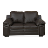 Kristen 2 Seater Sofa - @home by Nilkamal, Choco Brown
