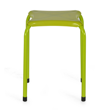 Nilkamal Rovena Stacking Stool, Green