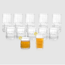 Meridian Tumbler Set of 12 pieces - @home by Nilkamal