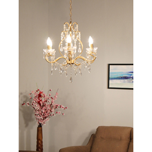 Turkish Glaze 51X44X43CM Chandelier, Gold