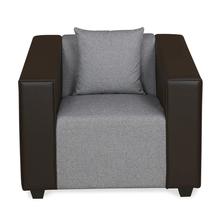 Diana 1 Seater Sofa, Dark Brown