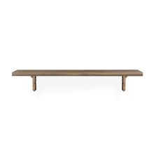 Romantic & Juan Medium Wall Shelf - @home by Nilkamal, Walnut