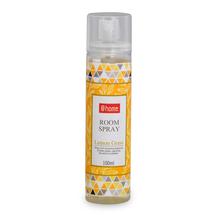 Lemon Grass Room Freshener 100 ml Spray Bottle - @home by Nilkamal, Yellow