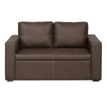 Lucy Two Seater Sofa, Warm Mocha