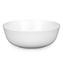 Round 8 Inch Serving Bowl, White