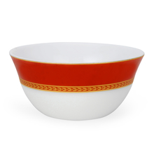 Laopala Sovrana Ameerah Soup Bowl Set of 6, Red