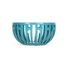 Azure Aura Cutwork Bowl, Blue