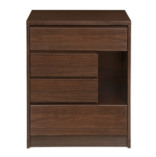 Dean 4 Chest of Drawers, Dark Walnut