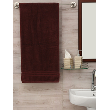 Zerotwist 80 cm x 160 cm Shower Towel, Brown