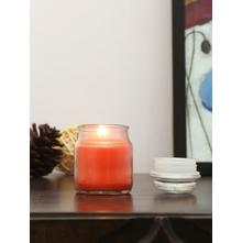 Tangerine Bliss Jar Candles Set of 2, Orange