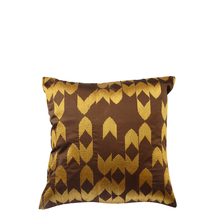 Chevron 40 cm x 40 cm Cushion Cover Set of 2 - @home by Nilkamal, Brown