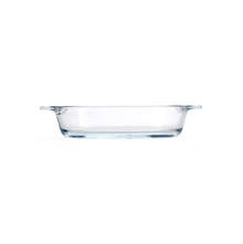 Sanjeev Kapoor 800 ml Oval Serving Dish, Clear