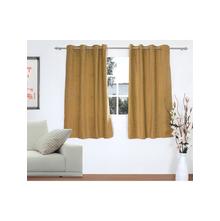 Opus 2 Pieces Window curtain 112X152CM, Beige